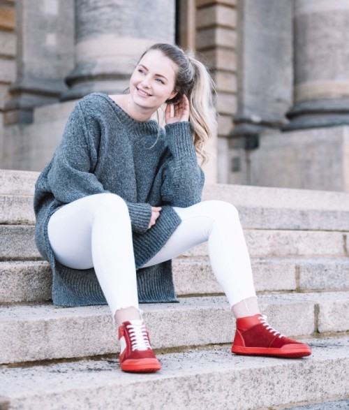 Chunky-Sneakers-Barfussschuhe
