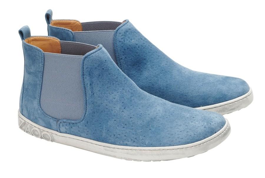 blaue-Chelsea-Boots-Damen