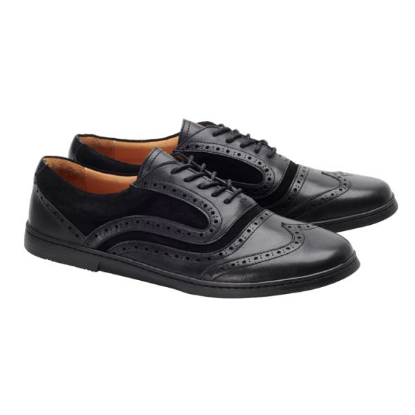 BRIQ Brogue Deep Black